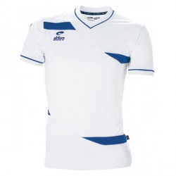 Maillot OLYMPIC MC Blanc/Royal + Flocage SCM blanc