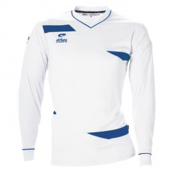 Maillot OLYMPIC ML Blanc/Royal + Flocage SCM blanc